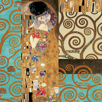 Gustav Klimt - Klimt IV 150° Anniversary (The Kiss)