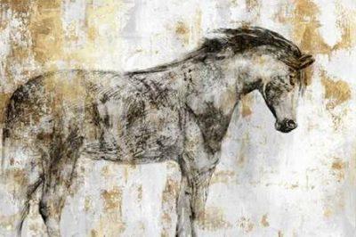 PI Galerie – Equestrian Gold I