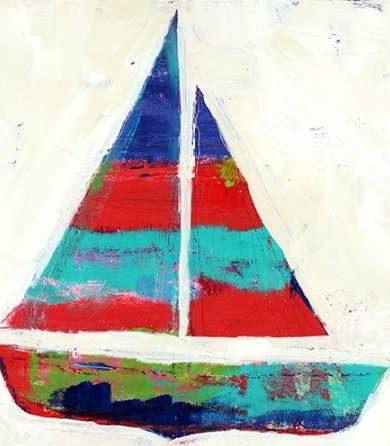 Wingard Pamela J - Sailboat Stripe