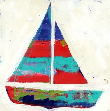 Wingard Pamela J - Sailboat Stripe