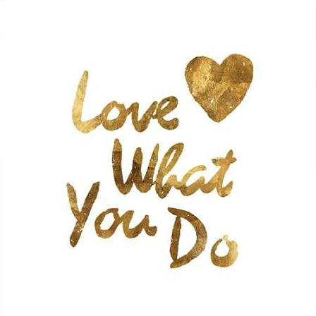 PI Studio - Love What you Do Heart