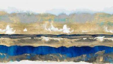 Springer Rachel - Strata in Blue and Gold