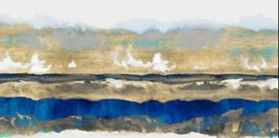 Springer Rachel – Strata in Blue and Gold