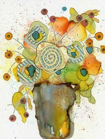 Ogren Sarah – Floral Vase