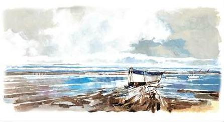 Roy Stuart - Boat on Shore