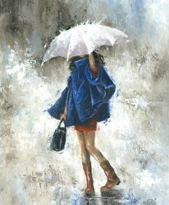 Wade Vickie – Rain Girl in Blue