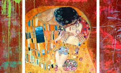 Eric Chestier – Klimt's Kiss 2.0 (detail) – 3