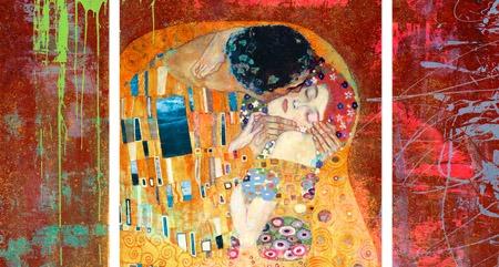 Eric Chestier – Klimt's Kiss 2.0 (detail) - 3