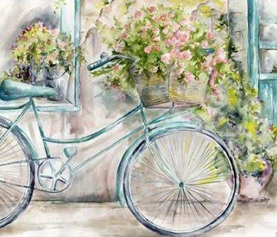 Tre Sorelle Studios - Paris Bicycle Landscape