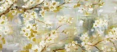 Tre Sorelle Studios - Golden Cherry Blossoms Panel