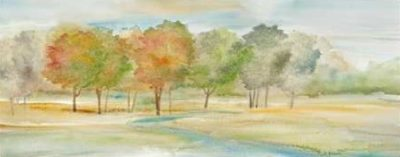 Coulter Cynthia – Watercolor Landscape Panel