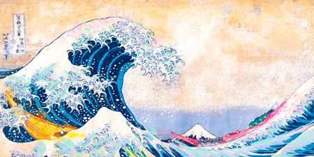 Eric Chestier - Hokusai's Wave 2.0 (detail)
