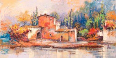 Luigi Florio – Case sul lago