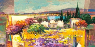 Luigi Florio – Estate mediterranea (detail)