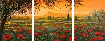 Tebo Marzari – Pianura in fiore – 3