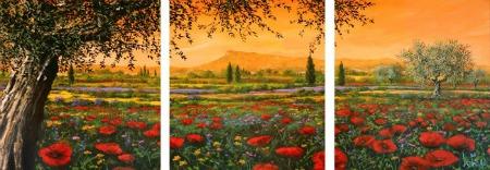 Tebo Marzari - Pianura in fiore - 3