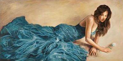 Bassetti Andrea – Donna in blu