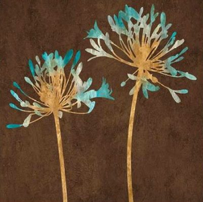 Lange Erin – Teal Bloom II