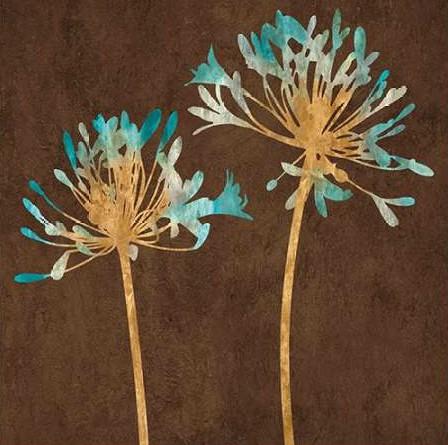 Lange Erin - Teal Bloom II