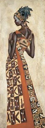 Leconte Jacques – Femme Africaine II
