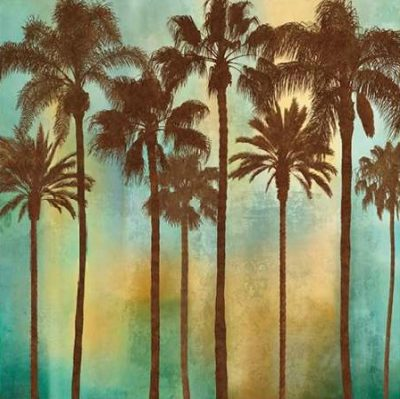 Seba John – Aqua Palms I