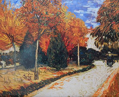 Vincent Van Gogh – Giardino autunnale