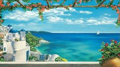 Dominguez Robert – Village in Greece