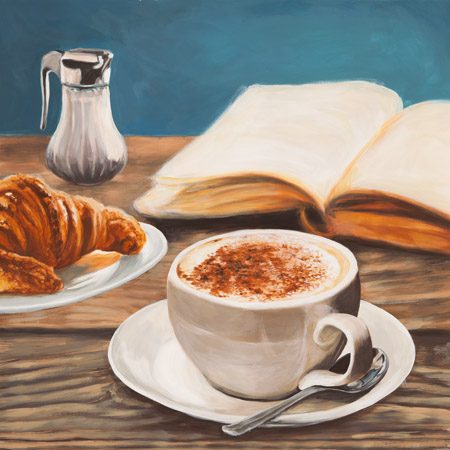 Sandro Ferrari - Cappuccino and Book