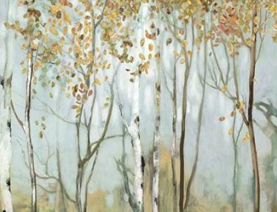 Pearce Allison – Birch in the fog II
