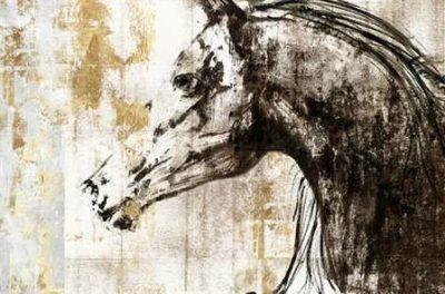 PI Galerie – Equestrian Gold IV
