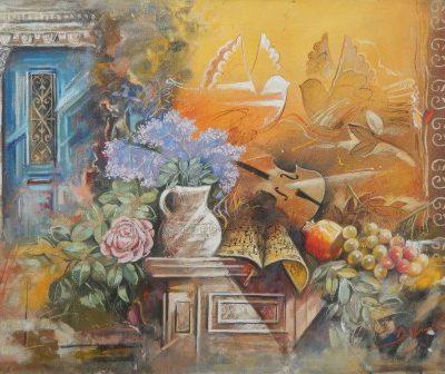 Ψωμάς Δημήτρης – Νεκρή φύση