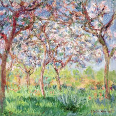 Claude Monet – Printemps a Giverny