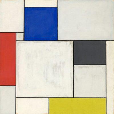 Piet Mondrian – Composition décentralisée