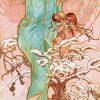 Alphonse Mucha - Hiver