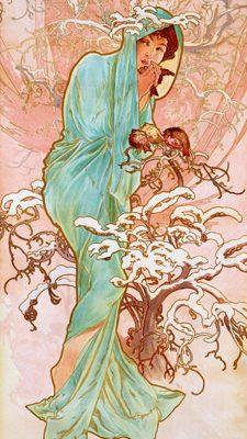 Alphonse Mucha – Hiver