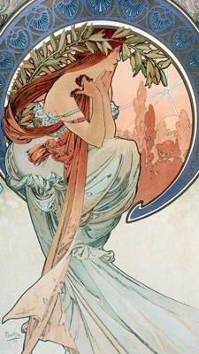Alphonse Mucha – La poésie