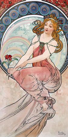 Alphonse Mucha – La peinture