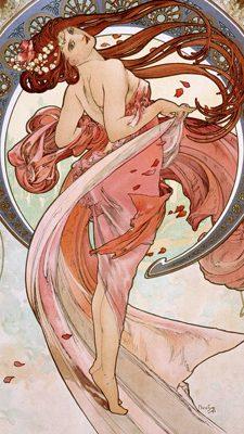 Alphonse Mucha – La danse