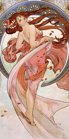 Alphonse Mucha - La danse