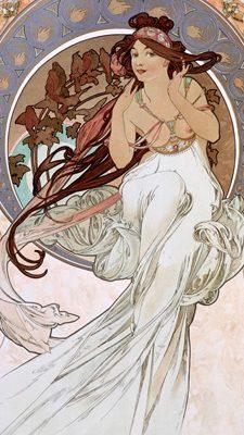 Alphonse Mucha – La musique
