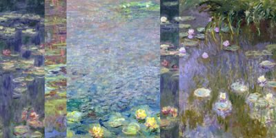 Claude Monet – Monet Deco Waterlilies III