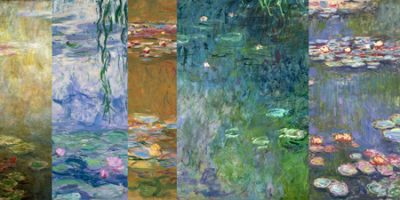 Claude Monet – Monet Deco Waterlilies IV