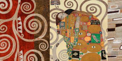 Gustav Klimt – Klimt Patterns The Embrace (Pewter)