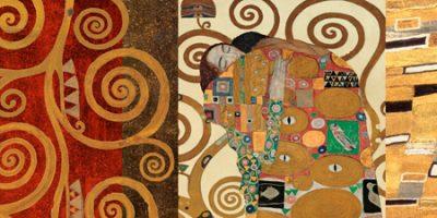 Gustav Klimt – Klimt Patterns The Embrace (Gold)