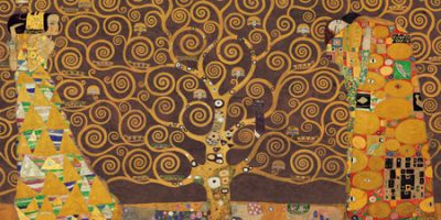 Gustav Klimt – Tree of Life (Brown Variation)