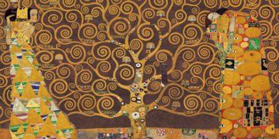Gustav Klimt – Tree of Life (Brown Variation)