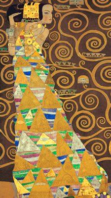 Gustav Klimt – Tree of Life (Brown Variation) I