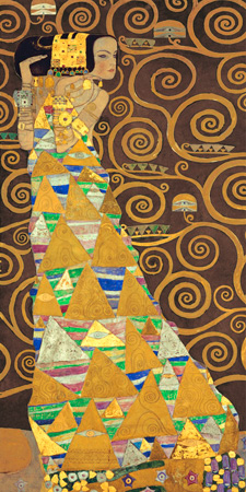 Gustav Klimt – Tree of Life (Brown Variation) I