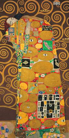 Gustav Klimt – Tree of Life (Brown Variation) III