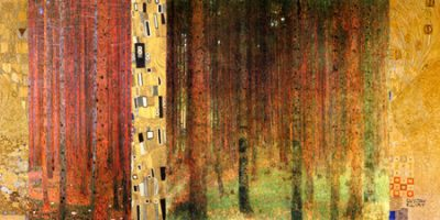 Gustav Klimt – Klimt Patterns Forest I
